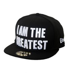 "New Era - Muhammad Ali collection ""I AM THE GREATEST"""