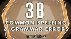 "38 Common Spelling and Grammar Errors - Mental Floss — Common spelling and grammar errors such as ""Stationery vs. Well"" and ""Loose vs. Basic Grammar, Grammar Tips, Grammar Humor, Teaching Grammar, Spelling And Grammar, Grammar And Vocabulary, Grammar Lessons, Teaching English, Teaching Vocabulary"