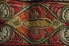 Norwegian Telemark Sauherad man's skirt, embroidered with wool and silk in different colors, before 1896 Wool Embroidery, Vintage Embroidery, Man Skirt, Fashion History, Different Colors, Tapestry, Folklore, Men's Clothing, Brother