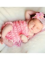 Lace Petti Romper For Infant