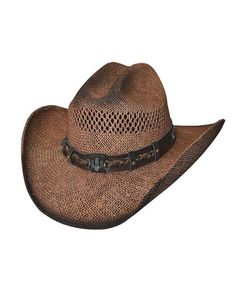 e350fb39c81 Bullhide Out of the Range Straw Cowboy Hat