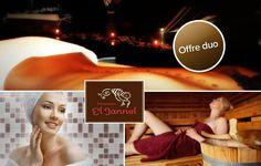 Laissez-vous envouter par les charmes de l'orient ! Profitez d'une offre pour 2 personnes au Hammam El Jannel, hammam et sauna en illimité, gommage et boissons pour seulement 29€ au lieu de 103€, soit 72% de remise !