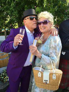 Tonic suit & Pork Pie Hat - #powellscottwedding