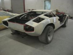 """Over at ferrarichat.com, member """"sp1der"""" left his Rosso/Rosso Lamborghini Countach LP5000S in the hands of the experts at U.K. based Alsa Automotive for a bare metal repaint, as well as…"""