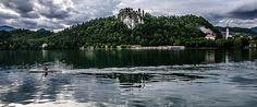 At the bottom of the lake