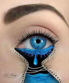 Amazing Eye-Makeup Illustrations by Tal Peleg 4 - https://www.facebook.com/different.solutions.page