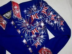 Just Fly Designs USA Grand Entry Rodeo Queen Shirt