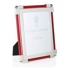 William Yeoward Crystal William Yeoward Classic Shagreen Photo Frame, x Home - Home Decor - Picture Frames - Bloomingdale's Home Decor Pictures, Scarlet, Picture Frames, Vibrant Colors, Classic, Products, Christmas, Crystals, My Dream House