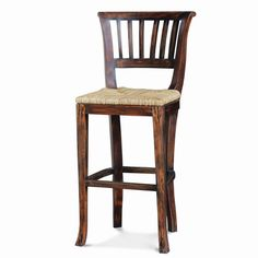 Manchester Barstool w/Rushseat. Customize items with any of our wide range of finishes, colors, and hand painted artwork. Any item can be painted in over million ways enabling items to be truly unique. The possibility are nearly endless and include stained, distressed, textured, antiqued, weathered and metallic finishes. In addition, artwork is available on most items. Items can be customized with any of our hand painted designs.
