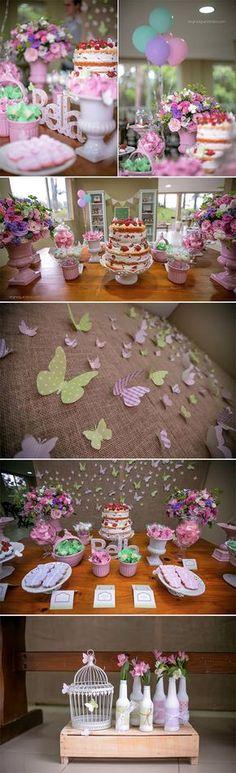Jardim das Borboletas da Bella - Senhora Inspiração! Blog