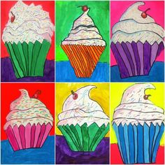 36 Elementary Art Lessons for Kids – Happiness is Homemade