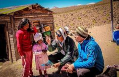 Sharing the good news in isolated territory in Chile. (Credit @claudio.photograph)