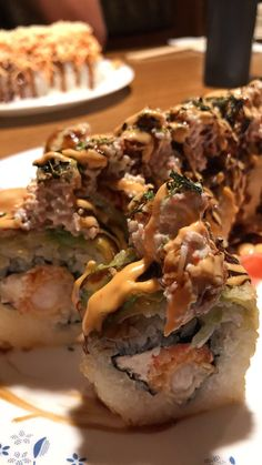 Spurs Roll at Goro's Sushi in San Antonio Texas. Everything is bigger and better in Texas y'all. [1242 x 2208]