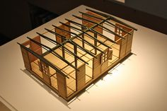 Demountable barrack, Jean Prouvé by bcmng, via Flickr