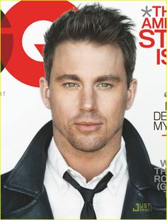 green with a touch of hazel - FOR THE FREAKING WIN!!  Channing Tatum
