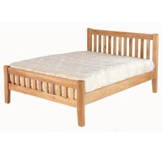 Cherbourg Oak Double Bed