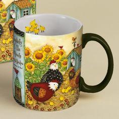 Chicken Coop Coffee Mug , 5021039 | Lang