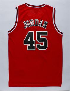 36c84df85 Aliexpress.com   Buy Classics red MJ jerseys Michael Jordan 45 retro jersey  Rev 30
