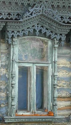 Наличники,the russian window.Tambov area