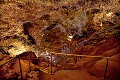 The Big Room at Rushmore Cave was discovered in 1920 by Virgil Williams.