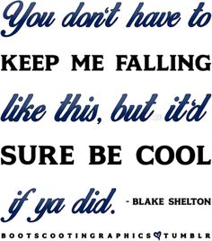 Country Song Quotes, Country Song Lyrics, Music Lyrics, Country Music, Country Life, Emotionally Unstable, Quinn Fabray, I Fall Apart, Joyful Noise