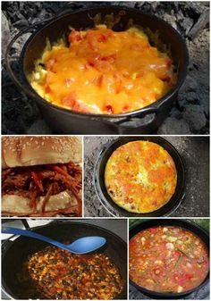 Camping is a activity that will require detailed meal planning. Cooking over a campfire is easy to do with when you use a few dutch oven camping recipes.