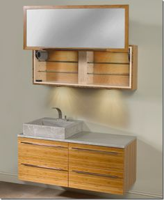 Bamboo Cabinet For Bathroom Cabinets Bath Design Layout