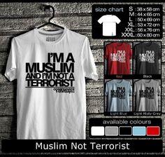 Kaos Distro Muslim not Terrorist