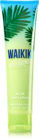 Waikiki Beach Coconut Aloe Gel Lotion - Signature Collection - Bath & Body Works
