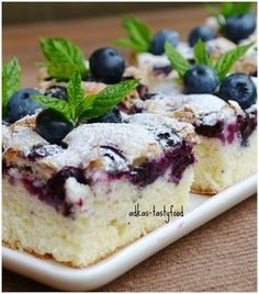 Enjoy these delicious and festive cake batter birthday waffles as a fun birthday morning treat. Baking Recipes, Cake Recipes, Dessert Recipes, German Baking, Gateaux Cake, Sweets Cake, Blueberry Recipes, Blueberry Cake, No Bake Desserts