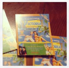 #teenbeachmovie #party #invitations #disneymovie victoria's Birthday Party ☀