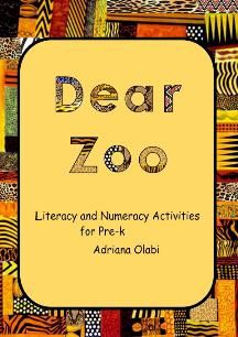 "TeacherLingo.com $8.00 - This book contains 20 interactive literacy and math activities for preschool children, based on the story ""Dear Zoo"" by Rod Campbell."