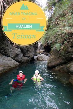 River Tracing in Taiwan's Taroko Gorge
