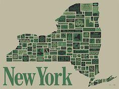 Draplin Design Co. - New York poster