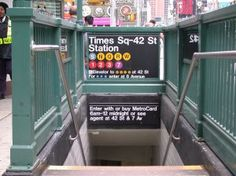 Bravo! I took this subway with no guide.. take me back to nyc