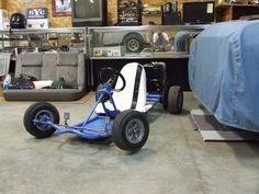 The Article on Karts in June Rod & Custom pretty much blew my mind. Ever since I was a kid I wanted a kart. Vintage Go Karts, Go Kart Frame, Homemade Go Kart, Go Kart Plans, Diy Go Kart, Kart Racing, Go Car, Karting, Mini Bike