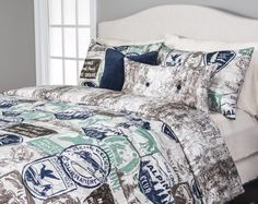 Parks and Rec Bedding Collection www.siscovers.com