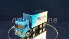 TOMICA 077F HINO PROFIA   CHINA   077F-1   FIRST   2004 TOMY LOGO BOX Old Models, Diecast, Corgi, Auction, Vans, Trucks, China, Logos, Collection