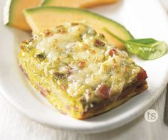 Do you have guests coming? This delicious frittata can be made ahead of time and just baked the morning you need it.