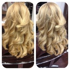 Hair coloured textured and toned by Salon Sienna.
