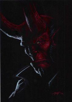 Hellboy by Luca Strati