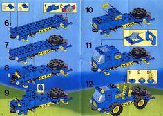 City - Mobile Crane Car [Lego 1489]