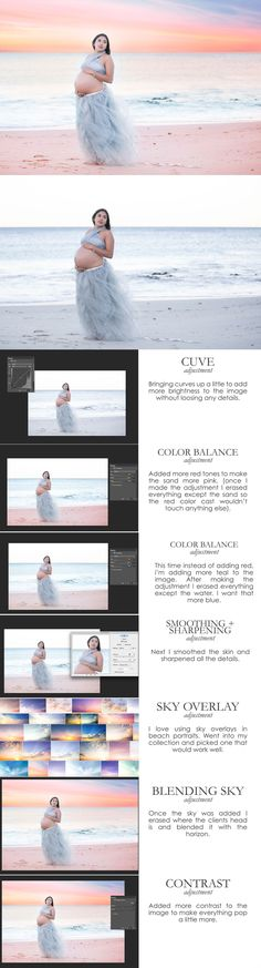 Creating beautiful beach portraits can be a little tricky at times. Lighting can change quite quickly and it's easy to fall short when it comes to a stunning su