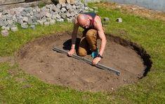 Byg en bålplads i haven - sådan gør du det selv