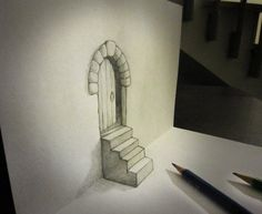 Brought to Life – Anamorphic Drawings by Alessandro Diddi.
