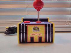 Namco Joystick 5-in-1 FUN games Vintage Pac-man Plug N Play Free Shipping