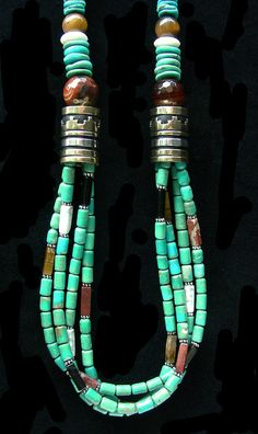 ~ Living a Beautiful Life ~ Tommy Singer Turquoise Necklace