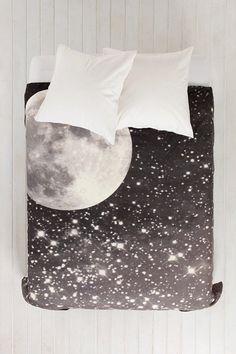 Shannon Clark For DENY Love Under The Stars Duvet Cover - Urban Outfitters