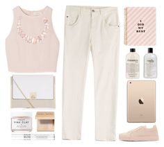 """""""nudes"""" by dianakhuzatyan ❤ liked on Polyvore featuring SemSem, New Look, Jil Sander, Poppy Jewellery, Herbivore, ban.do, philosophy, Bobbi Brown Cosmetics, Christian Dior and Brunello Cucinelli"""