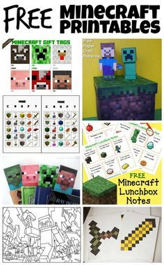 Mobiles Minecraft-Gameband - Crafts For Boys 9th Birthday Parties, Minecraft Birthday Party, 8th Birthday, Birthday Ideas, Minecraft Gifts, Minecraft Skins, Minecraft Party Games, Ideas Party, Minecraft Crafts